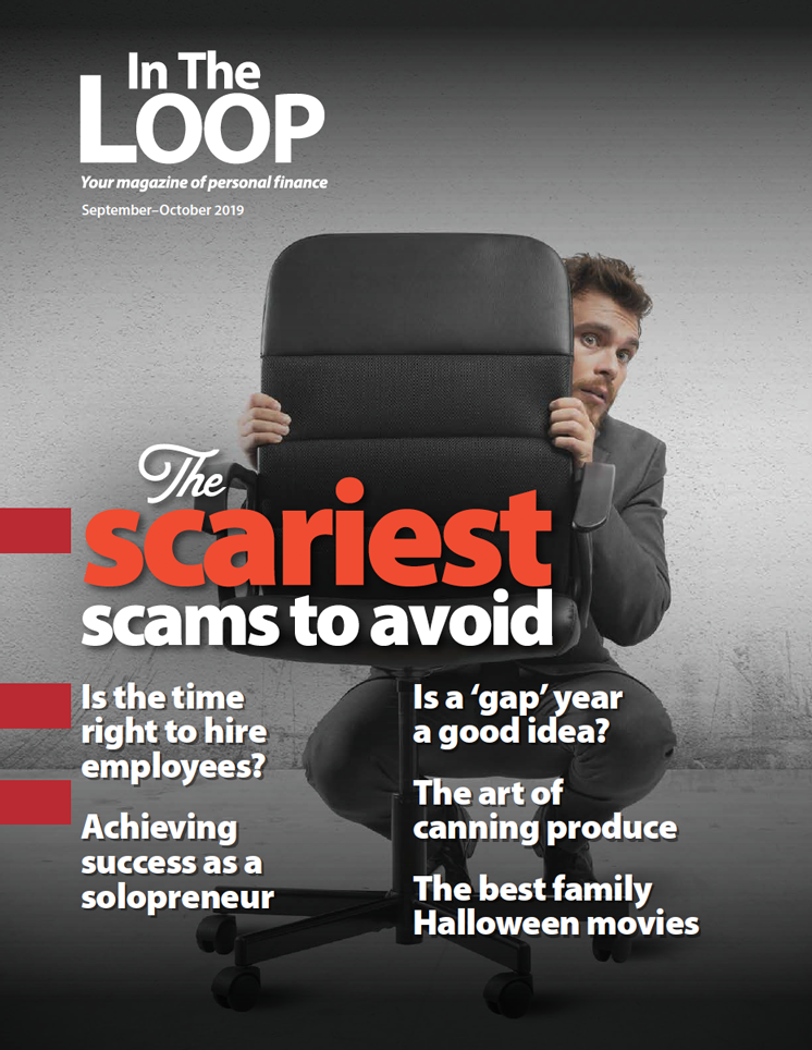 In The Loop magazine cover