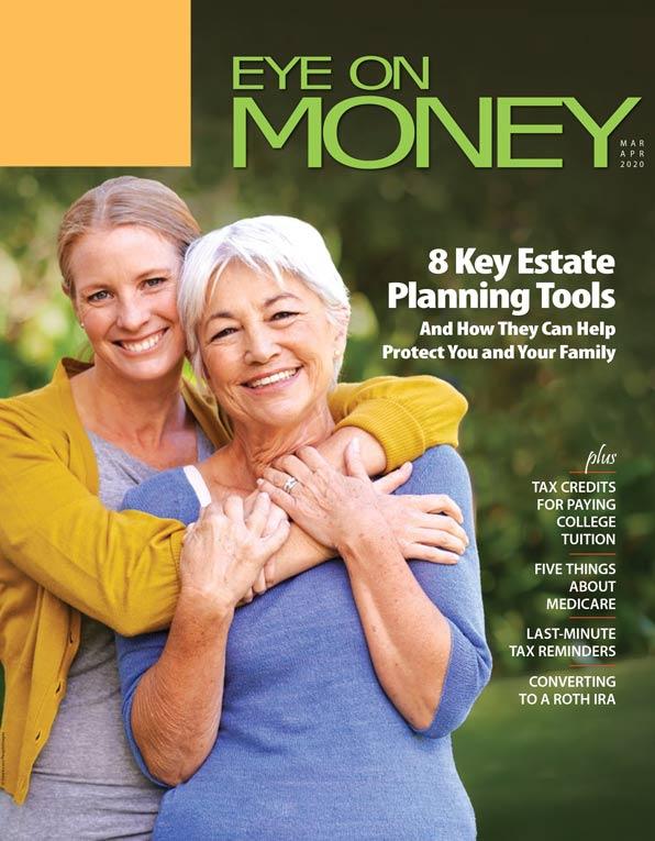 Eye on money magazine cover