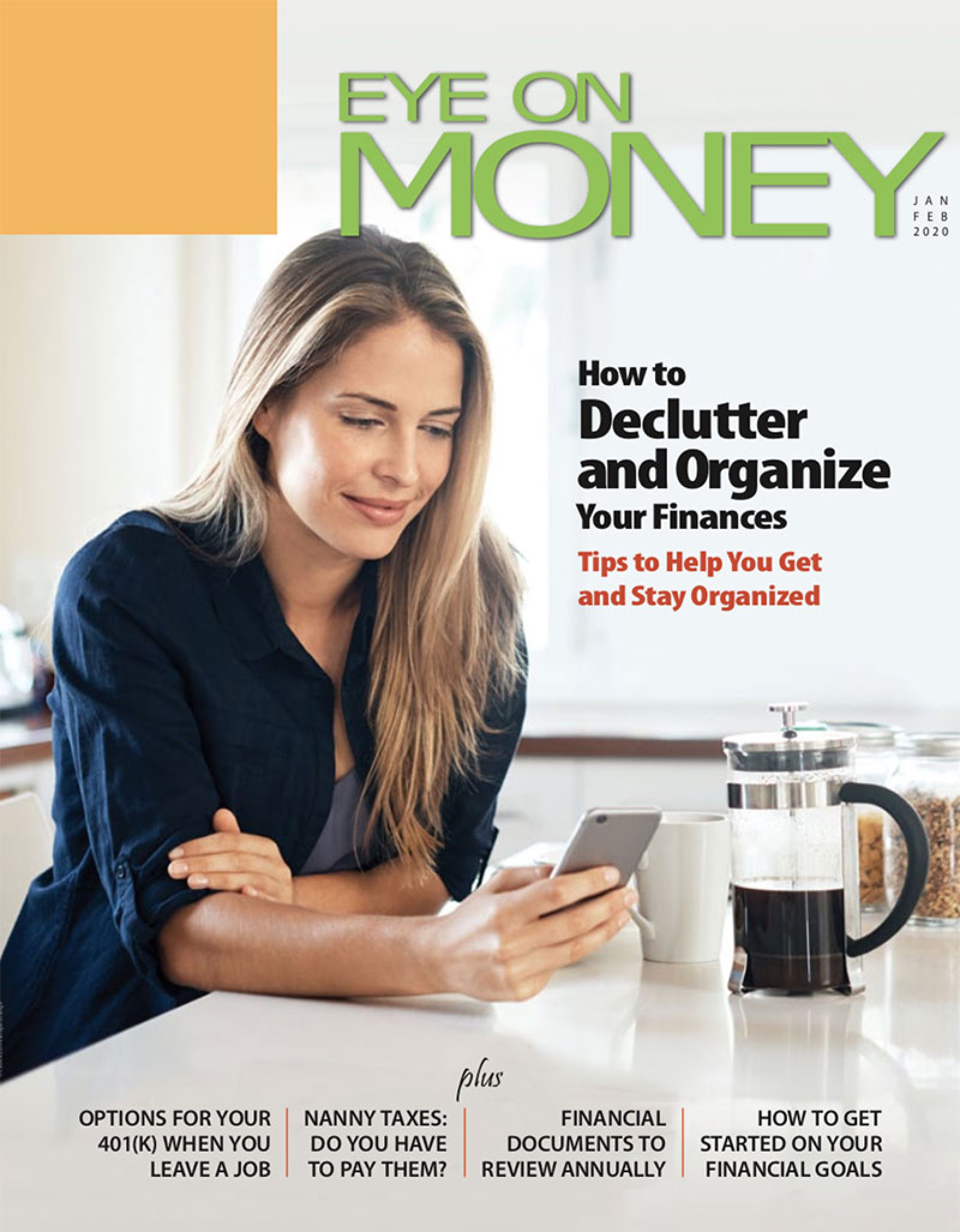Eye on money magazine cover
